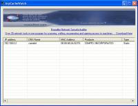 ArpCacheWatch 1.5.9 screenshot. Click to enlarge!