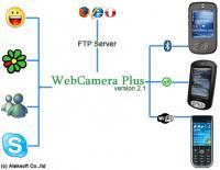 Ateksoft WebCamera Plus 2.1 screenshot. Click to enlarge!