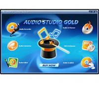 Audio Studio Gold 7.4.0.10 screenshot. Click to enlarge!