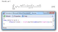 Aurora 2.1 screenshot. Click to enlarge!