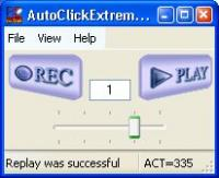 AutoClickExtreme 6.25.1 screenshot. Click to enlarge!