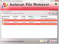 Autorun File Remover 5.0 screenshot. Click to enlarge!