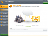 Avast Free Antivirus 17.4.2294.17.4.3482. screenshot. Click to enlarge!