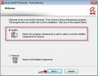 Avira Free Antivirus 15.0.27.34 screenshot. Click to enlarge!