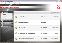 Avira AntiVir Premium 10.2.0.728 screenshot. Click to enlarge!