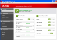 Avira Internet Security 2013 13.0.0.4052 screenshot. Click to enlarge!