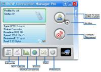 BVRP Connection Manager Pro 1.0 screenshot. Click to enlarge!
