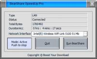 BearShare SpeedUp Pro 6.4.3 screenshot. Click to enlarge!