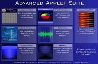 Blue Applet Suite 2.1 screenshot. Click to enlarge!
