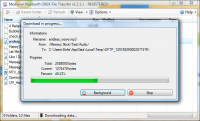 Bluetooth File Transfer 1.2.1.1 screenshot. Click to enlarge!