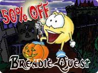 BreadieQuest:Halloween III 3.1 screenshot. Click to enlarge!