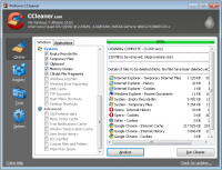 CCleaner 5.32.6129 screenshot. Click to enlarge!