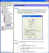 COMM-DRV/Lib Standard Edition 19.0 screenshot. Click to enlarge!