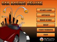 Car Racing Deluxe 3.1 screenshot. Click to enlarge!