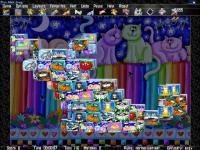 Cats Mah Jong -solitaire and mah jongg multiplayer v3 screenshot. Click to enlarge!