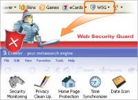 Crawler Web Security Guard 4.5 screenshot. Click to enlarge!