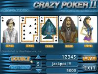 Crazy Poker 2 millennium screenshot. Click to enlarge!