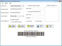 Create Barcode Label 5.0.1.5 screenshot. Click to enlarge!