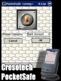 Cresotech PocketSafe 1.32 screenshot. Click to enlarge!