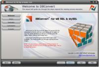 DBConvert for MS SQL & MySQL 2.1.0 screenshot. Click to enlarge!
