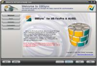 DBSync for MS FoxPro & MySQL 2.1.0 screenshot. Click to enlarge!