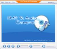 DVD To Audio Ripper 1.00.1 screenshot. Click to enlarge!