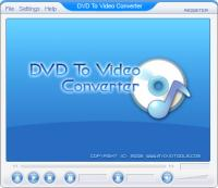 DVD To Video Ripper 1.00 screenshot. Click to enlarge!
