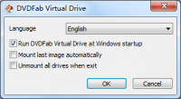 DVDFab Virtual Drive 1.4.0.0 screenshot. Click to enlarge!