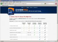 DWebPro 8.4.4 screenshot. Click to enlarge!