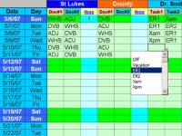 Daily Calls and Tasks for 20 Doctors 1.85 screenshot. Click to enlarge!