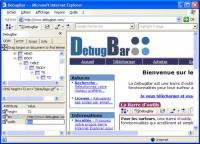 DebugBar 7.2 screenshot. Click to enlarge!