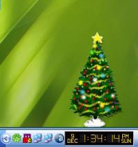 Desktop Christmas Tree 1.8 screenshot. Click to enlarge!