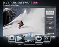 DivX Plus Software for Windows 8 screenshot. Click to enlarge!