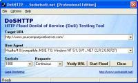 DoSHTTP 2.5.1 screenshot. Click to enlarge!