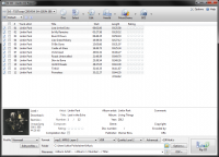 EZ CD Audio Converter 5.0.9 screenshot. Click to enlarge!