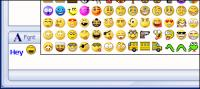 EZ Emoticons 3.0 screenshot. Click to enlarge!