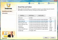 EgisTec Shredder 2.0.8.1 screenshot. Click to enlarge!