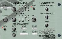 Electro Bass Landscapes 1.3 screenshot. Click to enlarge!