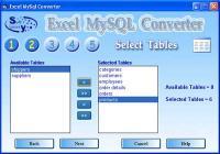Excel-Mysql converter 3.0 screenshot. Click to enlarge!