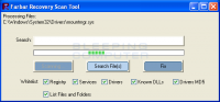 Farbar Recovery Scan Tool 14.5.2017.0 screenshot. Click to enlarge!