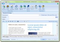 Fast Email Sender 5.1.0 screenshot. Click to enlarge!