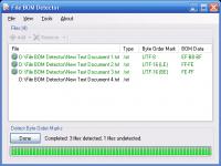 File BOM Detector 1.0.0.0 screenshot. Click to enlarge!