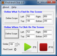 Find And Click 1.5.7 screenshot. Click to enlarge!