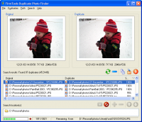 FirmTools Duplicate Photo Finder 1.1 screenshot. Click to enlarge!