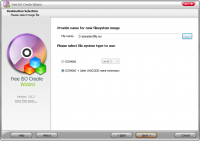 Free ISO Create Wizard 6.0.2 screenshot. Click to enlarge!