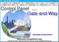 Gate-and-Way Fax 2.2 screenshot. Click to enlarge!