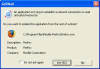 GeSWall Freeware 2.6 screenshot. Click to enlarge!