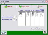 Golf Buddies 1.0 screenshot. Click to enlarge!