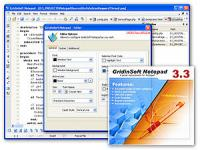 GridinSoft Notepad Lite 3.3.1 screenshot. Click to enlarge!