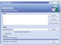 HEXCEL 1.0 screenshot. Click to enlarge!